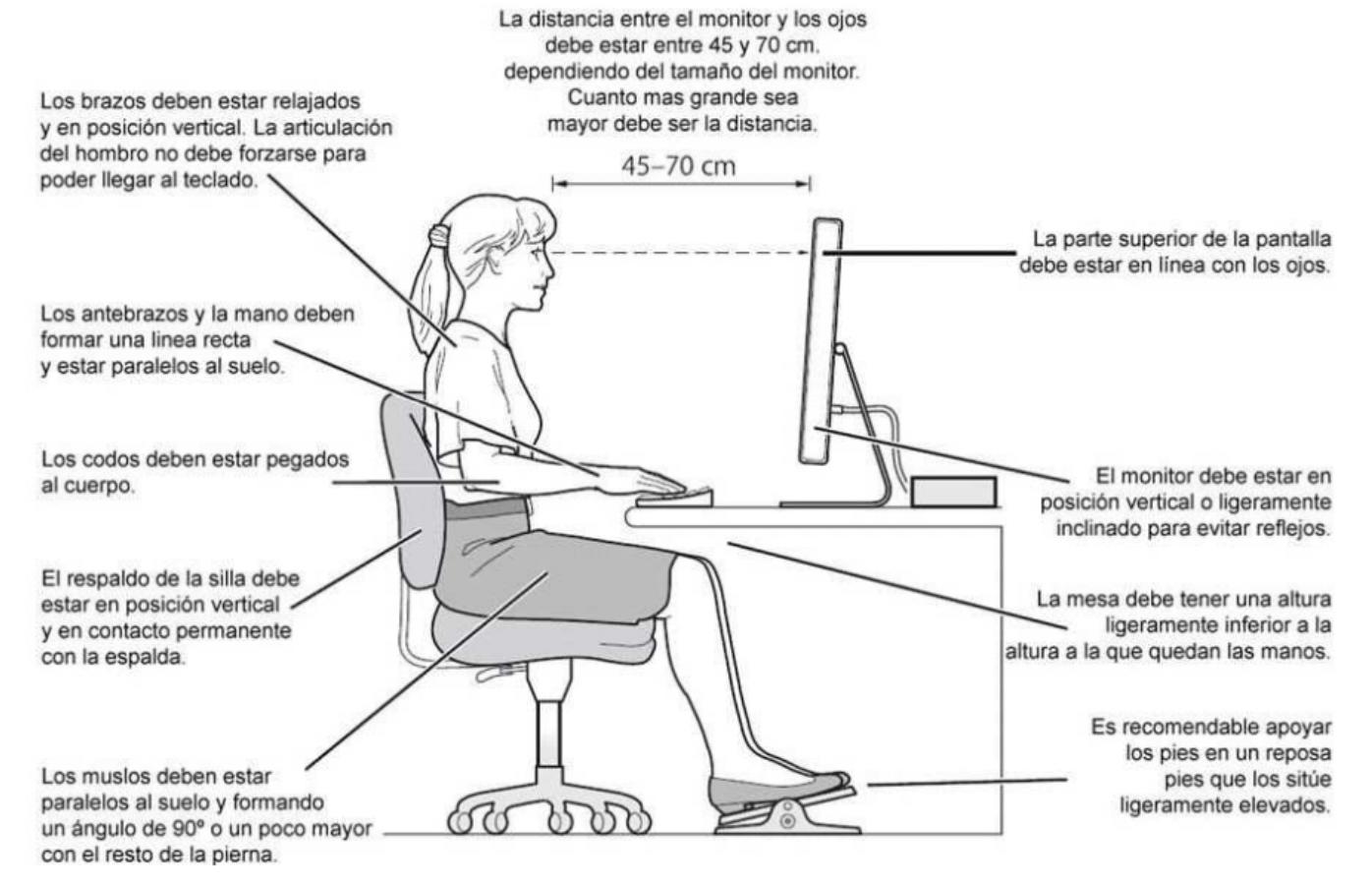 buenos hábitos posturales